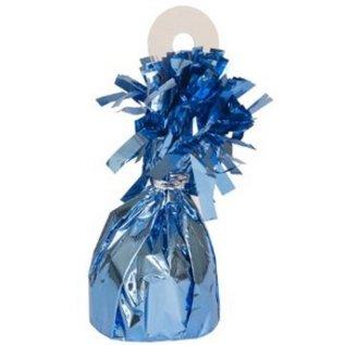 """Balloon Weight-Foil-Light Blue-1pkg-4.5""""x2.25"""""""