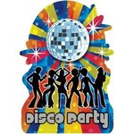 Cutout-70's Disco Party-11'' x 16''