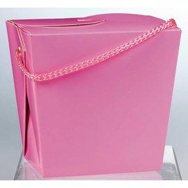 Paper Pail-Large -Pink
