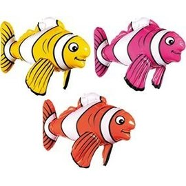 Inflatable Striped Fish-17''