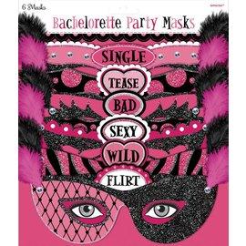 Masks-Girls Night Out-Bachelorette-6pk-/8''
