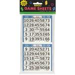 Bingo Game Sheets - Casino -  125 sheet - 1pc -