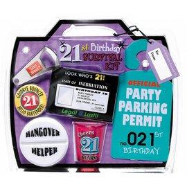 21st BDAY Kit
