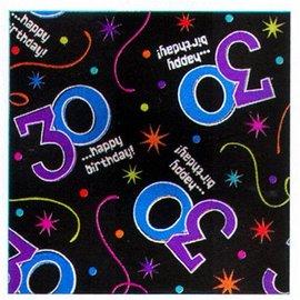 Gift Wrap-30 Happy Birthday-5ft x 30''