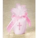 Candle-Baby Shower-Religious-Pink-2''
