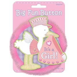 Award Button-It's A Gril-4.75''