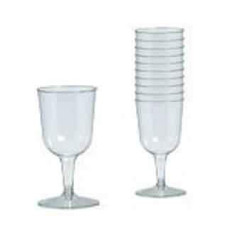 9b74802c26a Glass-Wine-Clear-5.5oz/32pkg-Plastic - Victoria Party Store