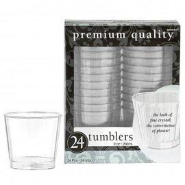 Tumblers-Premium-Clear-24pk/9oz-Plastic