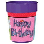 Cup-Garden Girl-Plastic-16oz- Discontinued