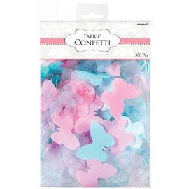 Fabric Confetti-Butterfly/Flower