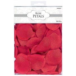 Fabric Confetti-Rose Petals-Red-300pk