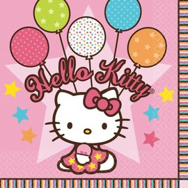 Napkins-BEV-Hello Kitty-16pk-2ply- Final sale