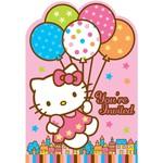 Invitations-Hello Kitty-8pk