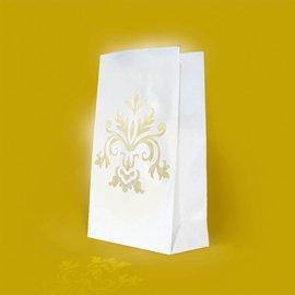 Luminary Bags-Wedding Bouquet-24pk/10''