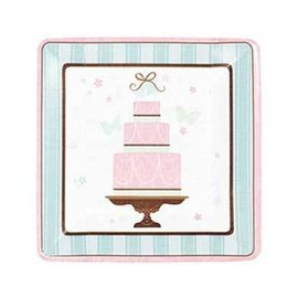 Plate-DN-Blushing Bride-Value/18pk-paper (Discontinued)