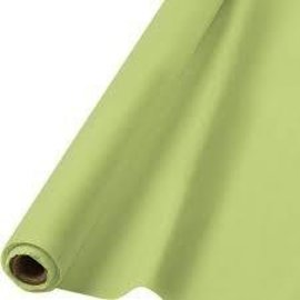 Tablecover Roll-Leaf Green-100Ft-Plastic