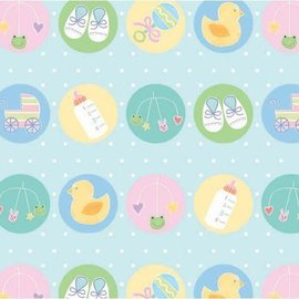 Gift wrap-Baby Shower-Animals-5ft x30''
