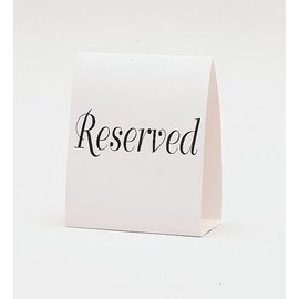 Place Cards-Reserved-12pk/5''