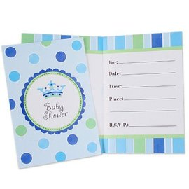 Invitations-New Little Prince-8pk