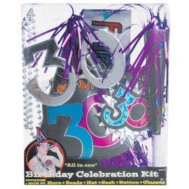 Decor kit-30th birthday