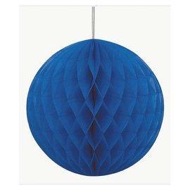 "Honeycomb Ball-Royal Blue-Paper-8"""