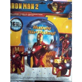 Centerpiece Balloon Decor-Iron man 2