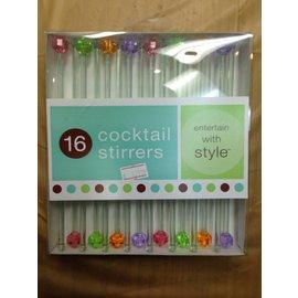 Cocktail Stirrers- 16pk
