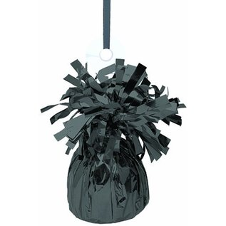 "Balloon Weight-Foil-Black-1pkg-4.5""x2.25"""