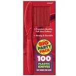 Knives-Premium-Apple Red-Box/100pkg-Plastic
