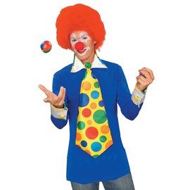 Costume Accessory-Deluxe Clown Kit-Adult Standard