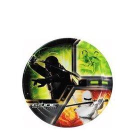 Plates-BEV-GI Joe 'Rise of Cobra'-8pk-Paper
