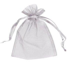 Organza Bag- Silver (Discontinued)