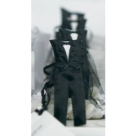 Favor Bags- Mini Groom Tux- 12pk
