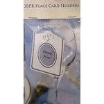 Place Cards Holders-Wedding Hearts-20pkg