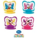 """Cupcake Toppers-Minnie Mouse-8pkg-1.44"""""""