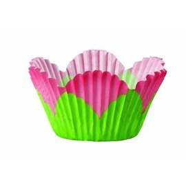 """Baking Cups-Mini Flower-48pkg-1.25"""""""