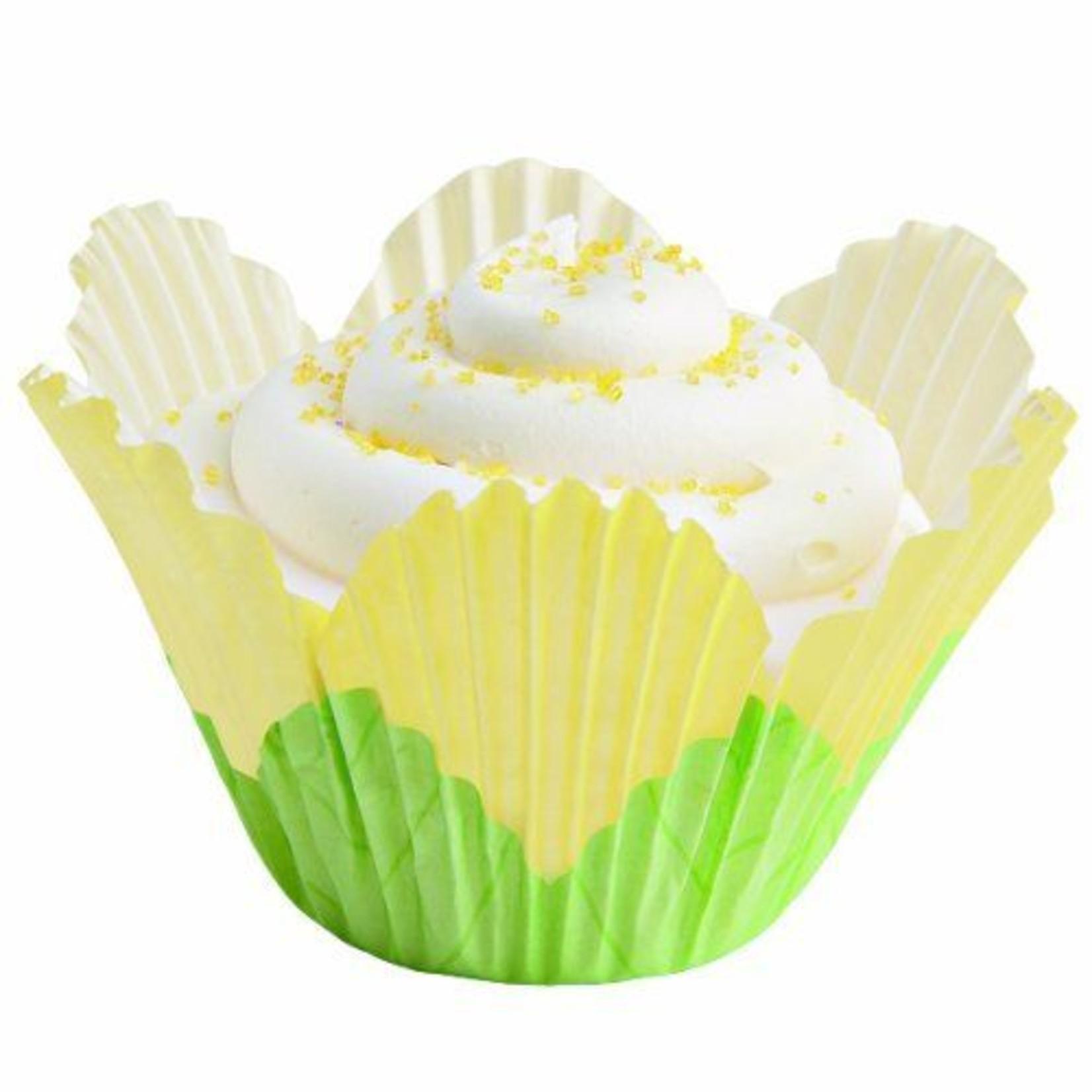 "Baking Cups-Yellow Petals-24pkg-2"""