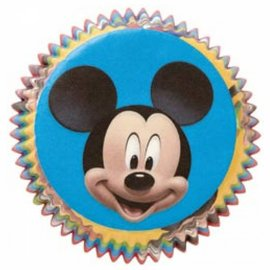 """Baking Cups-Mickey Mouse-50pkg-2"""""""
