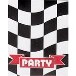 Invitations-Race Car Party-8pkg