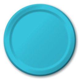 Plates-LN-Bermuda Blue-20pkg-Paper