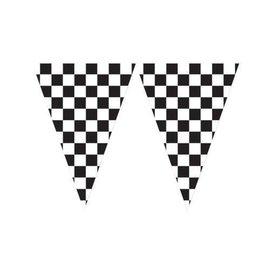 "Flag Banner - Race Car - 20ftx18"""