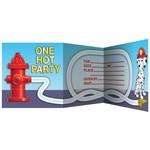 Invitations-Firefighter-8pkg