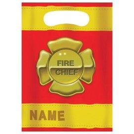 Loot Bags-Firefighter-8pkg