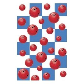Tablecover-Rectangle-Bowling Fanatic-Plastic