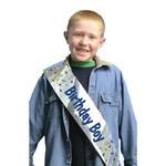 Sash - Foil - Birthday Boy - 1pk - 66x4''