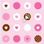 Napkins-LN-Bride To Be Dots-16pkg-3ply  (Discontinued)