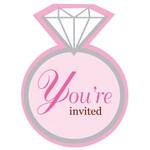 Invitations-Bride To Be-8pkg