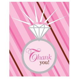 Thank You Cards-Bride To Be-8pkg