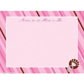 Advice Cards-Bride To Be-20pkg