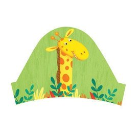 Headbands-Jungle Buddies-8pkg-Paper